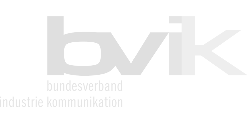 MRstudios Client Bvik logo in light grey colour without background.
