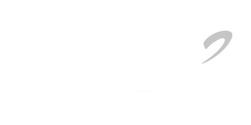 MRstudios Client Multi-Wing logo in white without the background.
