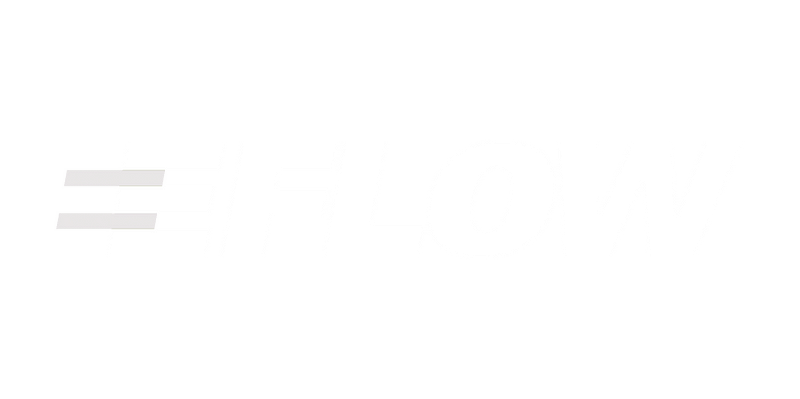 MRstudios Client Eflow logo in white without the background.